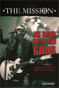 The Mission - At War With The Gods (Buch)