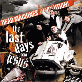 The Last Days Of Jesus - Dead Machines' Revolution (CD)