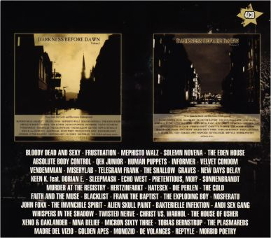 V/A - Darkness Before Dawn Vol. 1 & Vol. 2 Box-Set (4CD)